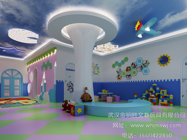 幼儿园装修设计特别注意事项(下)|武汉金明胜